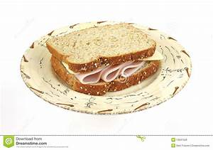 Turkey And Cheese Sandwich Royalty Free Stock Images ...
