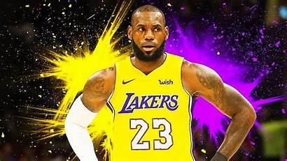 Lebron Lakers James Wallpapers Desktop