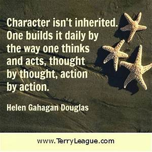 Inspirational Quotes About Character. QuotesGram