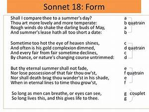 sonnet analysis essay example