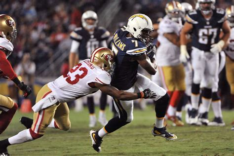 San Diego Chargers Lose To San