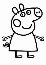Peppa Pig Fun Coloring Pages Colouring Outline Pepa Sheets Printable Sheet Peppapig Template Print Printables Im sketch template