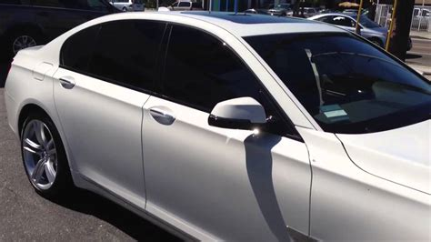 bmw  limo tint   los angeles ca