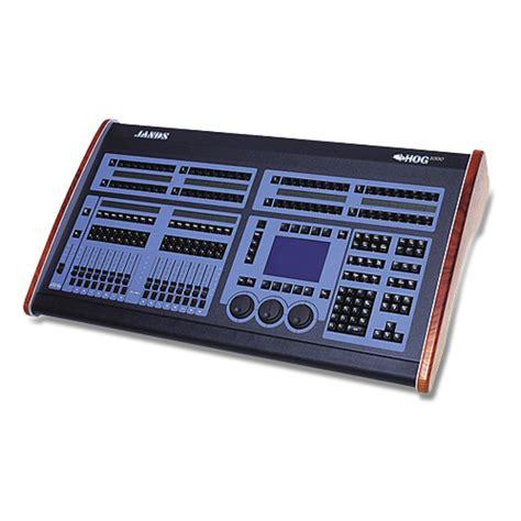 hog lighting console jands hog 1000 console 10kused
