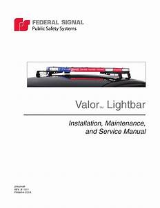 Federal Signal Valor Lightbar Wiring Diagram