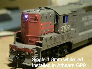 1 8mmm White Leds For Ho Scale Headlights And Ditch Lights
