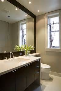 modern bathroom decor ideas phenomenal large framed bathroom mirrors decorating ideas