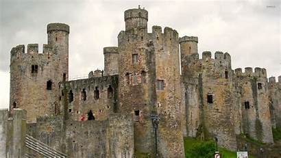 Castle Medieval Castles Wallpapers Walls Ancient Wales