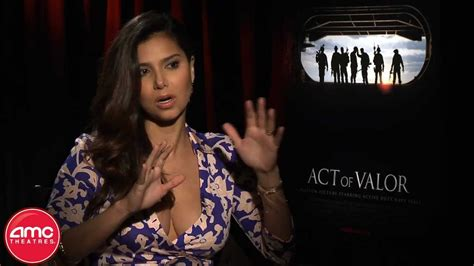 """Roselyn Sanchez Talks """"Act Of Valor"""" With AMC - YouTube"""