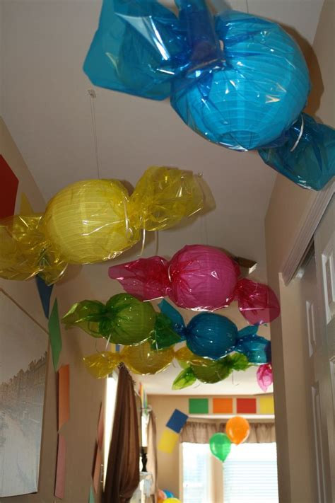 candy land decorations ideas  pinterest candy