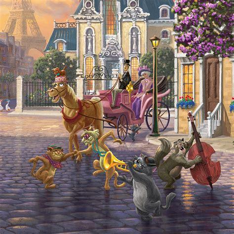 aristocats limited edition canvas thomas kinkade