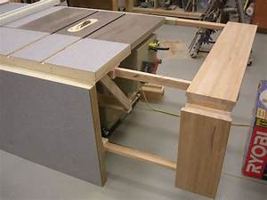 Table Saw Bench Plans