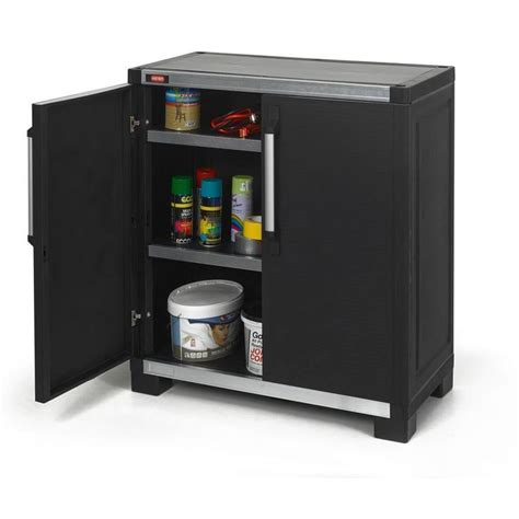 Keter Wide XL 35 in. x 39 in. Freestanding Plastic Utility