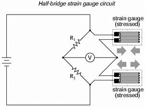 measurement 4 wire strain gauge to 2 wire conversion With strain gauge wiring