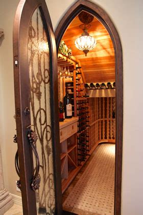 closet turned into wine cellar home decorating diy
