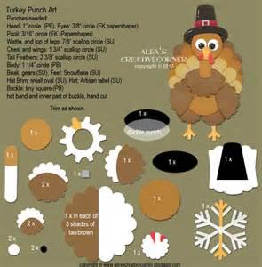 Punch Art Turkey Thanksgiving