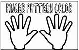 Fingers Finger Math Activities Counting Pattern Double Patterns Stuffed Activity Learning Printable Plays sketch template
