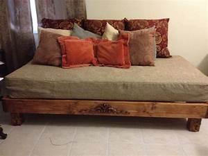 Furniture Full Flat Platform Bed Frame With Headboard