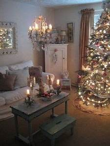 Shabby Chic Christmas Inspiration on Pinterest