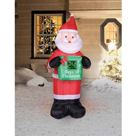 outdoor christmas inflatables walmartcom
