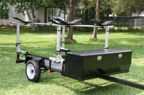 kayak rack for trailer kayak trailers 30 photo ideas to buy or build your own