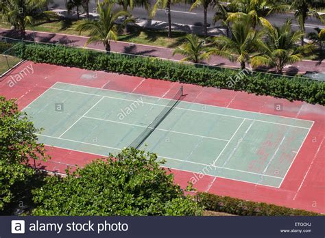 tennis court aerial stock  tennis court aerial stock images alamy