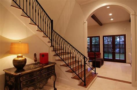 indoor iron stair railing ideas for home