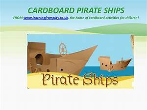 cardboard pirate ship With cardboard pirate ship template