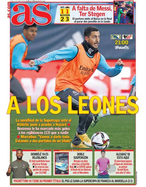 Today's papers: Ter Stegen's the hero for Barcelona while ...