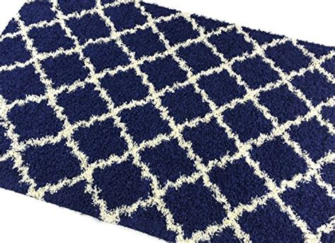 blue trellis rug navy blue trellis shag area rug rugs shaggy collection