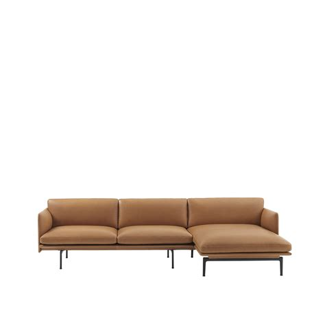 chaise longue design muuto canapé outline sofa chaise longue anderssen voll