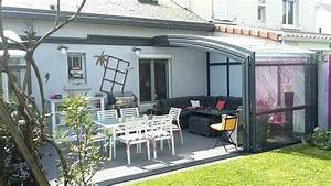 Veranda Rideau Avis : abri de terrasse veranda rideau zochrim abri de terrasse ~ Melissatoandfro.com Idées de Décoration