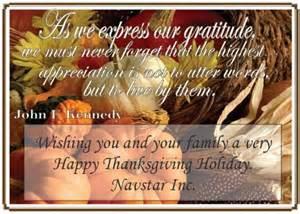 happy thanksgiving from navstar navstar