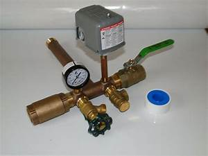 1 X 11 Pressure Tank Tee Kit   Valves Water Well Square D 30 50 Fsg2 No Lead