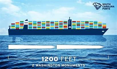 Ports Ship Animation Charleston Port Biggest Infographic
