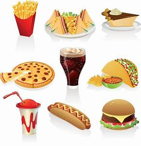 Fast food clipart vector | Vector Graphics Blog
