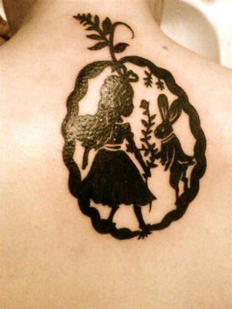 alice  wonderland tattoo designs  meaning