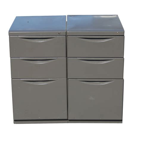 Herman Miller File Cabinet by 2 Herman Miller Geoff Hollington Relay File Cabinet Ebay