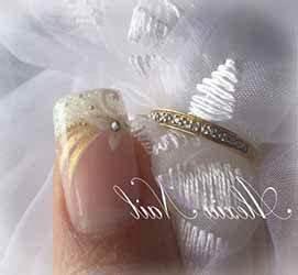Modele French Manucure Fantaisie : motif ongle pour mariage deco ~ Melissatoandfro.com Idées de Décoration