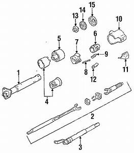 Steering Column Assembly Parts For 1991 Chevrolet S10