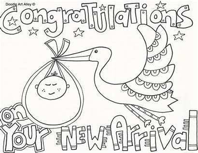 Coloring Shower Pages Printable Printables Congratulations Boy