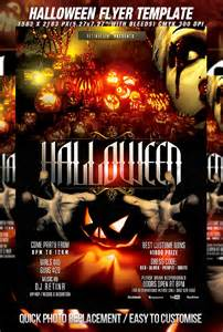 Free Halloween Flyer Templates Photoshop by Psd Halloween Flyer Template By Retinathemes On Deviantart