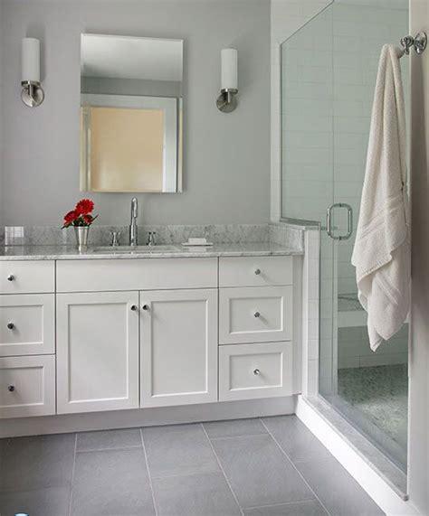 gray bathroom floor tile ideas  pictures
