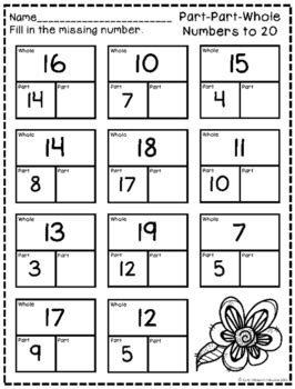 part part  numbers    early childhood