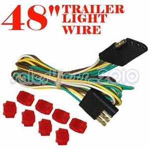 48 U0026quot  Trailer Light Wire 4