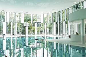 Daylit Indoor Swimming Pool in Germany is Enveloped in a