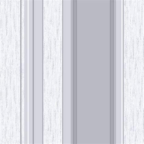 Vymura Synergy Striped Wallpaper Dove Grey, Silver, White