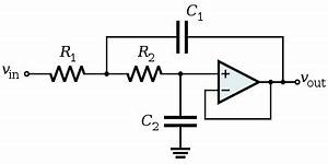 effect of capacitor type in an active filter circuit With active filter types