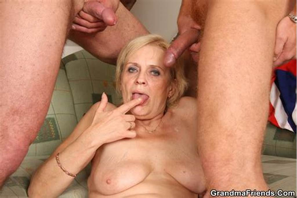 #Grandma #Friends #Blonde #Grandma #Takes #Facial #Cumshots #The