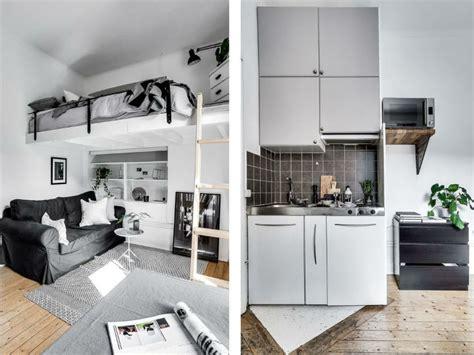 Tiny Scandinavian Studio Loft by Tiny Scandinavian Studio Loft Decoholic
